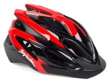 Imagen casco Spiuk Tamera, rojo y negro