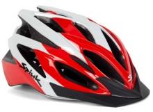 Imagen casco Spiuk Tamera, rojo y blanco