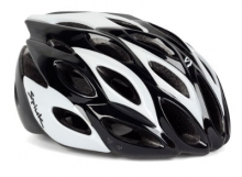 Imagen casco Spiuk Zirion, negro y blanco