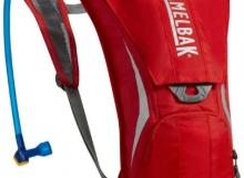 Imagen mochila hidratación CamelBak Classic, rojo